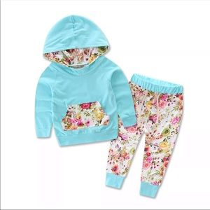 Other - Spring Vibes Hooded Set